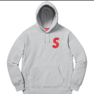 シュプリーム(Supreme)のSupreme S Logo Hooded Sweatshirt グレーSロゴ(パーカー)