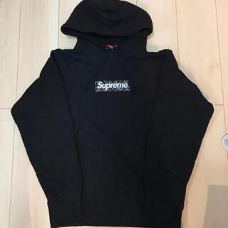 シュプリーム(Supreme)のSupreme bandana boxlogo sweatshirt(パーカー)