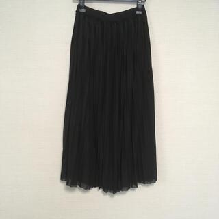カプリシューレマージュ(CAPRICIEUX LE'MAGE)のチュールスカート プリーツスカート ロングスカート(ロングスカート)
