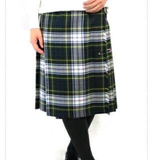 オニール(O'NEILL)のO'NEILOFDABLIN プリーツスカート ウール100 ドレスゴードン(ひざ丈スカート)