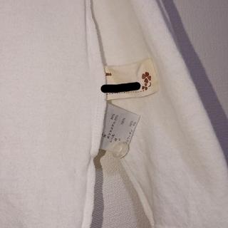 ニッセン(ニッセン)の長袖カットソー(白)(Tシャツ/カットソー)