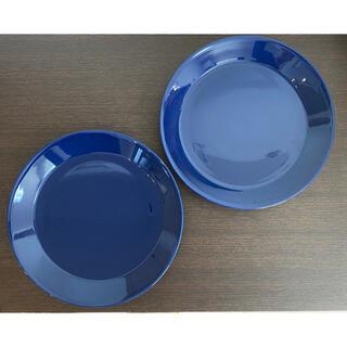 イッタラ(iittala)の極美品 イッタラ ティーマ プレート 23cm ブルー 廃盤(食器)