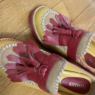 エスペランサ(ESPERANZA)のヒール 革靴(ローファー/革靴)