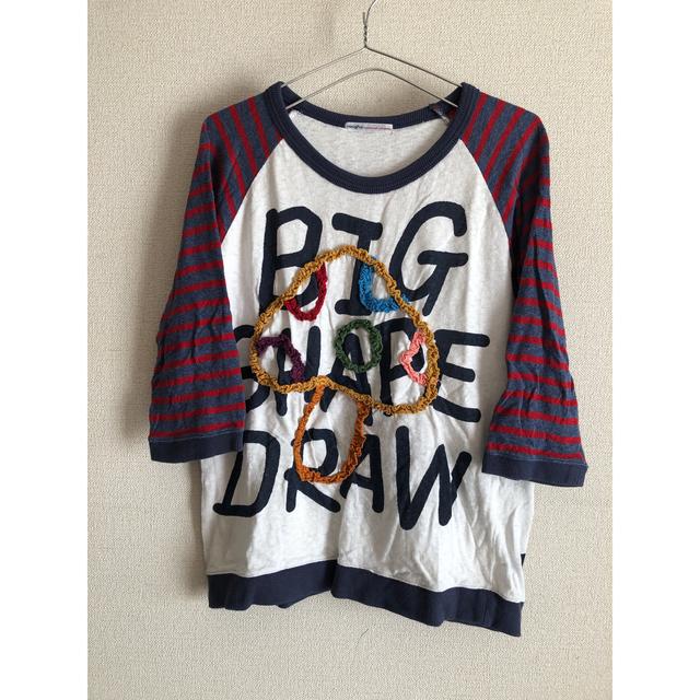 rough(ラフ)のrough 七分袖Tシャツ レディースのトップス(Tシャツ(長袖/七分))の商品写真