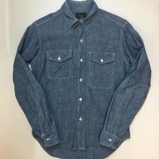 エンジニアードガーメンツ(Engineered Garments)のサイズXS woolrich woolen mills シャンブレーシャツ(シャツ)