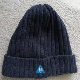 ルコックスポルティフ(le coq sportif)の値下げ‼️暖かい❗いけてるle coqニット帽(ニット帽/ビーニー)