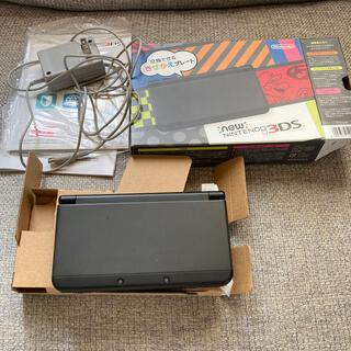 ニンテンドー3DS(ニンテンドー3DS)のNintendo 3DS NEW ニンテンドー 本体 ブラック(携帯用ゲーム機本体)