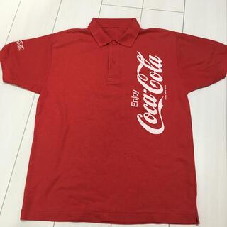 コカコーラ(コカ・コーラ)のポロシャツ コカコーラ SからMサイズ(Tシャツ/カットソー(半袖/袖なし))