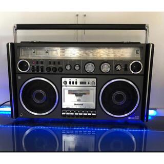 パナソニック(Panasonic)の昭和レトロ ナショナル RX-7700 BCLと高音質の両方高級ラジカセ貴重美品(ラジオ)