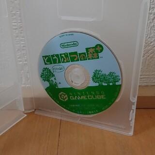 ニンテンドーゲームキューブ(ニンテンドーゲームキューブ)の任天堂 どうぶつの森 + ゲームキューブ(家庭用ゲームソフト)