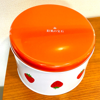 ミツコシ(三越)の三越伊勢丹 彩果の宝石 ストロベリー缶(菓子/デザート)