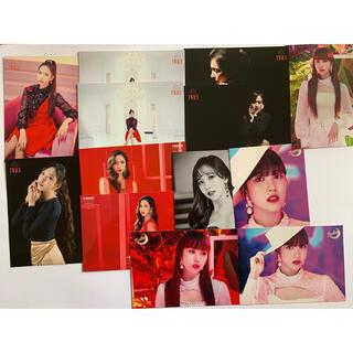 ウェストトゥワイス(Waste(twice))のミナ ランダムとレンディングカード(K-POP/アジア)