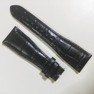 ガガミラノ(GaGa MILANO)のガガミラノ 交換ベルト  ブラック 黒(レザーベルト)