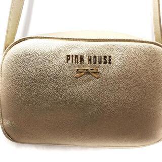 ピンクハウス(PINK HOUSE)のピンクハウス ショルダーバッグ - ゴールド(ショルダーバッグ)