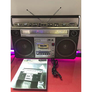 ビクター(Victor)の日立 PERDISCO パディスコTRK-8800貴重 美品 昭和レトロラジカセ(ラジオ)