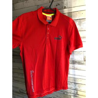 プーマ(PUMA)のポロシャツ(赤)(ポロシャツ)