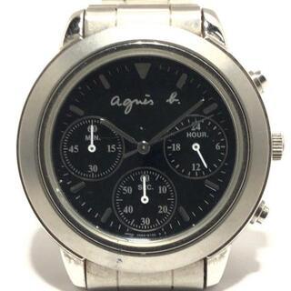 アニエスベー(agnes b.)のアニエスベー 腕時計 - V654-6100 メンズ(その他)