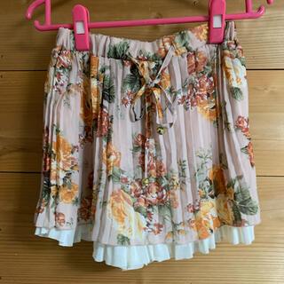 【☆441】花柄ミニスカート(ミニスカート)