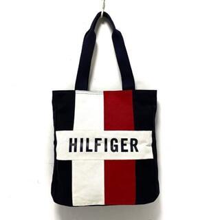 トミーヒルフィガー(TOMMY HILFIGER)のトミーヒルフィガー トートバッグ美品  -(トートバッグ)
