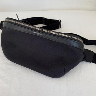 サンローラン(Saint Laurent)のサンローラン クロスボディバッグ ブラック 新品 未使用 保存袋等同梱(ボディーバッグ)
