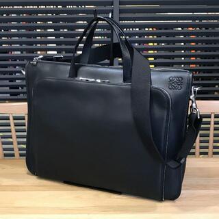 ロエベ(LOEWE)の新品同様 ロエベ 2WAYブリーフケース ニュートレド 黒 ビジネスバッグ(ビジネスバッグ)