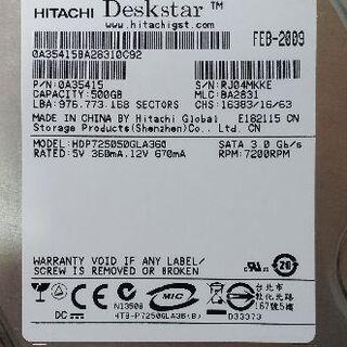 日立 - 日立 3.5インチ HDD 500GB【中古】