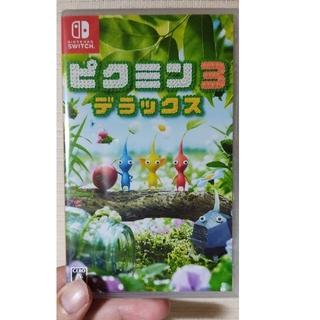 ニンテンドースイッチ(Nintendo Switch)の新品未開封 ピクミン3 デラックス Switch(家庭用ゲームソフト)