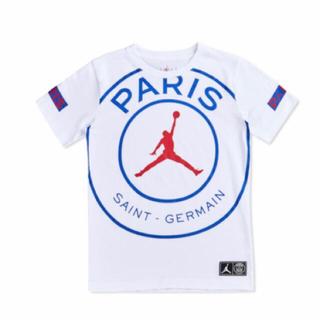 ナイキ(NIKE)のjordan psg Tシャツ キッズ 150cm 新品未使用(Tシャツ/カットソー)