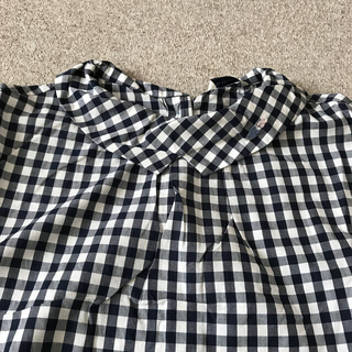 プードゥドゥ(POU DOU DOU)のPOU DOU DOU 紺色チェックシャツ(シャツ/ブラウス(長袖/七分))