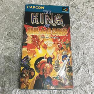 スーパーファミコン(スーパーファミコン)のザ・キングオブドラゴンズ スーパーファミコン SFC(家庭用ゲームソフト)