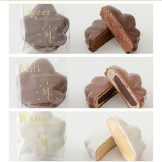 にしき堂冬季限定メープルチョコレート(菓子/デザート)