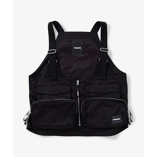 NEIGHBORHOOD - NEIGHBORHOOD PACK / C-VEST BLACK M