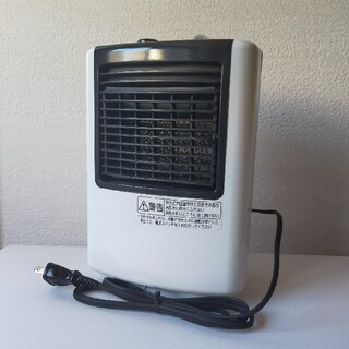 パナソニック(Panasonic)のパナソニック セラミックヒーター 650W DS-F702-W(電気ヒーター)