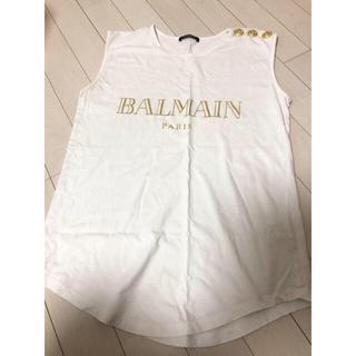 バルマン(BALMAIN)のバルマン タンクトップ トップス(Tシャツ(半袖/袖なし))