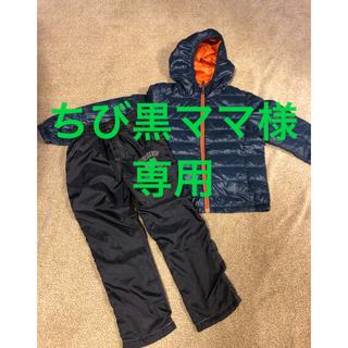 ユニクロ(UNIQLO)の子供服 男の子向け 冬物5点セット 120(コート)