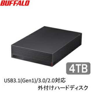 バッファロー(Buffalo)の【即日発送】バッファロー 外付けHDD 4TB HD-LD4.0U3-BKA (その他)
