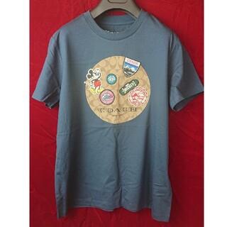 コーチ(COACH)の新品未使用 コーチ×ディズニーコラボTシャツ M size ミッキー(Tシャツ(半袖/袖なし))