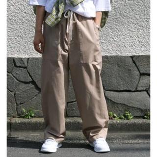 ワンエルディーケーセレクト(1LDK SELECT)のuru×so nakameguro FATIGU PANTS ウル(スラックス)