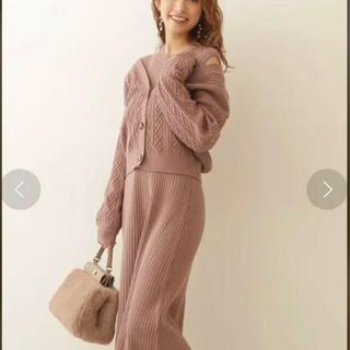 プロポーションボディドレッシング(PROPORTION BODY DRESSING)のPBDのVネックカーデ&ニットワンピース♡(ロングワンピース/マキシワンピース)