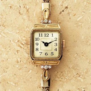 アガット(agete)の最終お値下げ!agete♡ジュエリーウォッチ♡アガット 時計(腕時計)