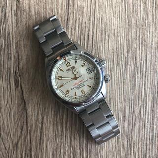 セイコー(SEIKO)のseiko アルピニスト 4S15-6000(腕時計(アナログ))