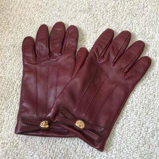 コーチ(COACH)のcoach レザー手袋(手袋)