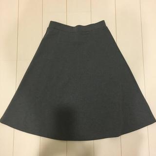 ジーユー(GU)のGU  レディースXLサイズフレアースカート(ひざ丈スカート)