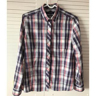 マカフィー(MACPHEE)のチェックシャツ ブラウス(シャツ/ブラウス(長袖/七分))