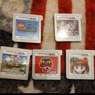 3DS ソフトまとめ売り(携帯用ゲームソフト)