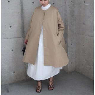 DEUXIEME CLASSE - ella round hem tent trench coat トレンチコート