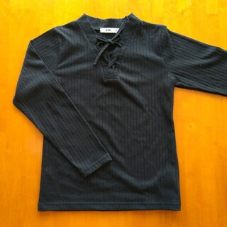 エムピーエス(MPS)の【美品】MPS 女の子 トップス 黒 140(Tシャツ/カットソー)