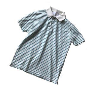 ユニクロ(UNIQLO)の最低価格 定価3千!ユニクロ ドライストレッチポロシャツ コバルトブルー(ポロシャツ)