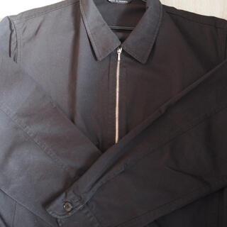 アニエスベー(agnes b.)の【超希少】90s フランス製 アニエスベーオム ドリズラージャケット 黒 モード(ブルゾン)