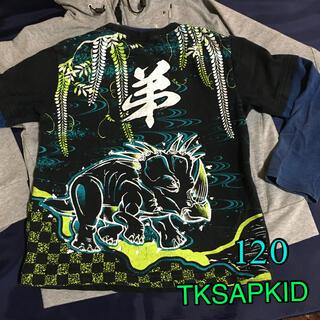 タケオキクチ(TAKEO KIKUCHI)のTKSAPKIDカットソー120(Tシャツ/カットソー)